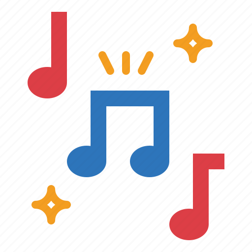 Note, music, musical, song icon