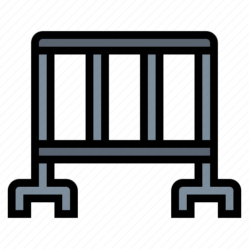 fence, limits, security icon