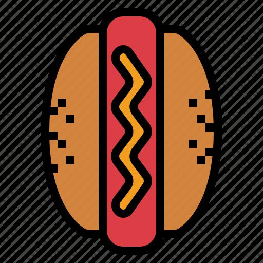 Dog, fast, food, hot icon - Download on Iconfinder