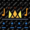 concert, festival, music icon