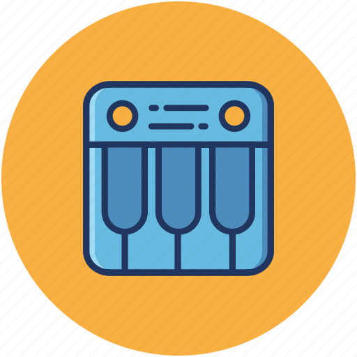 Music, recording, audio, media, sound, keyboard icon - Download on Iconfinder