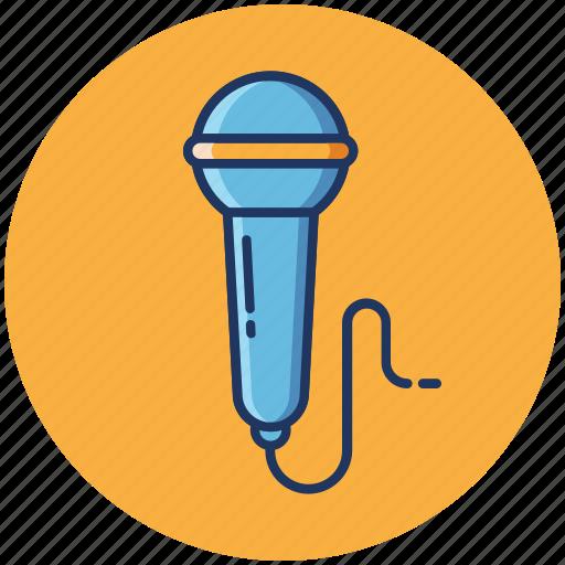audio, microphone, music, singing, volume icon