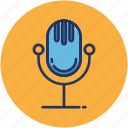 audio, microphone, music, singing, volume icon