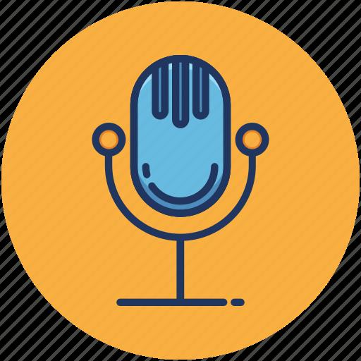 Volume, microphone, music, singing, audio icon
