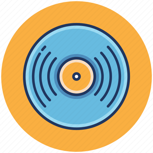 Music, record, song, audio, player icon - Download on Iconfinder