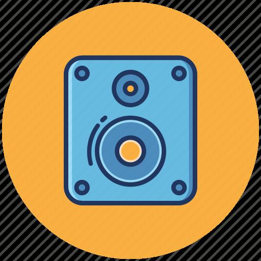 Music, sound, volume, audio, media, play, speaker icon - Download on Iconfinder