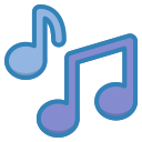 note, multimedia, music, song, musical, melody icon