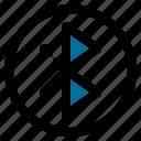 bluetooth, entertainment, melody, sound icon