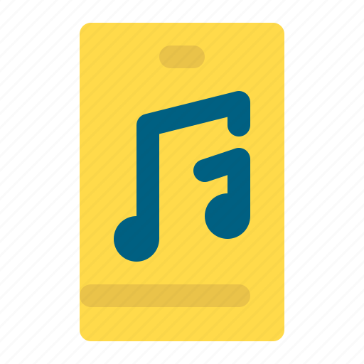 entertainment, melody, music, note, sound icon