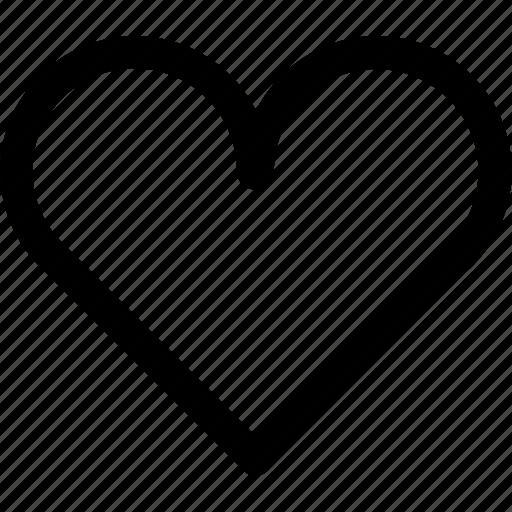 heart, itunes, like, love, romance, romantic, valentine icon