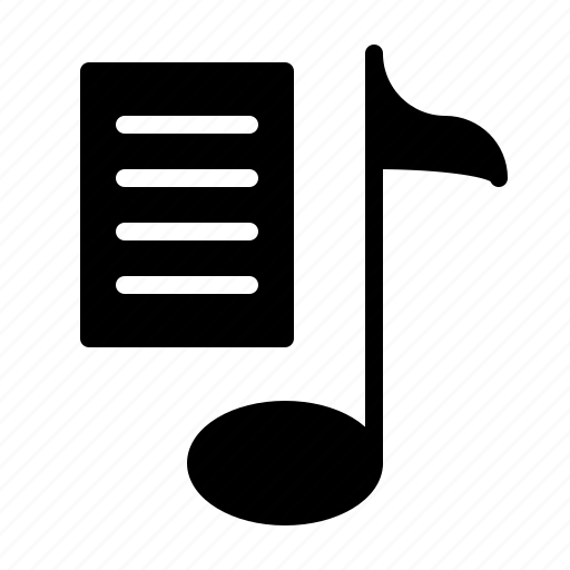 melody, music, playlist, song, sound, tune icon