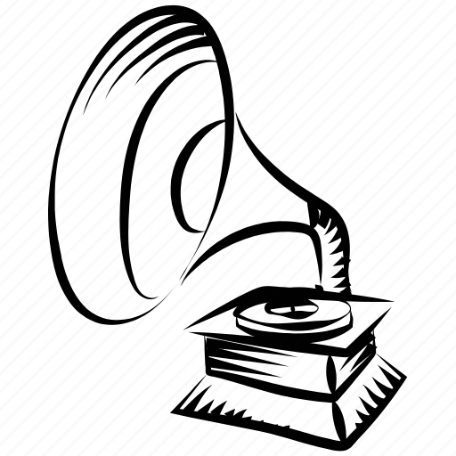 classical music, gramophone, music instrument, phonograph, record player, victrola icon
