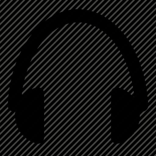 audio, headphone, headphones, headset, media, music, musicicons icon