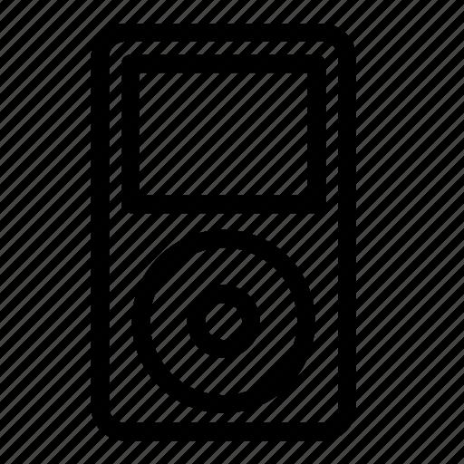 audio, ipod, mp3, multimedia, music, player, sound icon