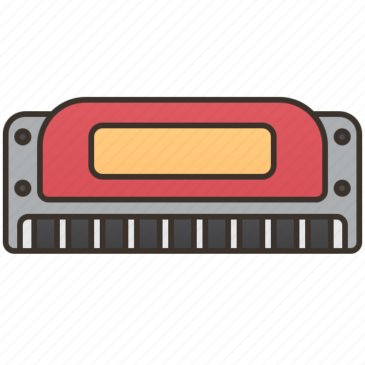 Blow, country, harmonica, organ, sound icon - Download on Iconfinder