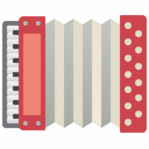 Accordion, acoustic, classic, harmony, retro icon - Download on Iconfinder