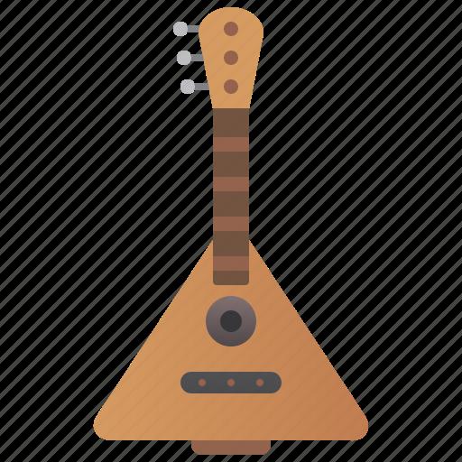Balalaika, classical, folk, guitar, traditional icon - Download on Iconfinder