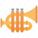 brass, cornet, instrument, jazz, symphony