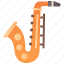 blow, brass, instrument, jazz, saxophone