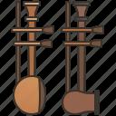 alto, asian, fiddle, soprano, string icon