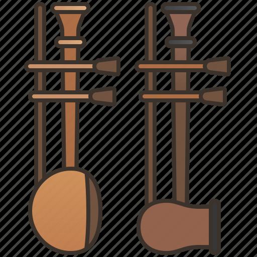 Alto, asian, fiddle, soprano, string icon - Download on Iconfinder