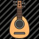 acoustic, folk, instrument, lute, music