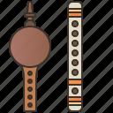 pungi, bansuri, indian, traditional, instrument icon