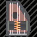autoharp, chord, harmony, melody, string icon