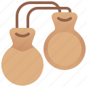 castanets, clappers, instrument, latin, music icon