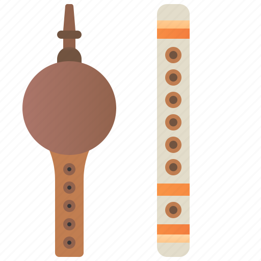 Bansuri, indian, instrument, pungi, traditional icon - Download on Iconfinder