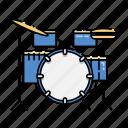 drum, instrument, kit, music