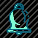 bell, bells, christmas, handbell, instrument, music, xmas icon