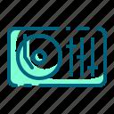 audio, dj, instrument, mixer, music, sound, turntable icon