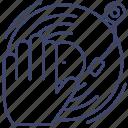 cd, dj, turntable, vynil icon