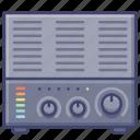 amplifier, digital, music, sound icon