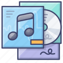music, album, cd, disk icon