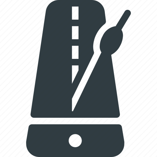 instrument, metronome, music, play, rythm icon