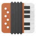accordion, instrument, music, play