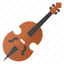 chello, instrument, music, play, violine icon