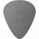 guitar, instrument, music, pick, play