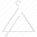 instrument, music, play, triangulum