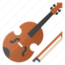 instrument, music, play, violine