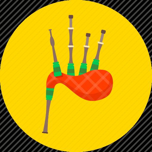 audio, bagpipes, bullhorn, equipment, instrument, musical, tool icon