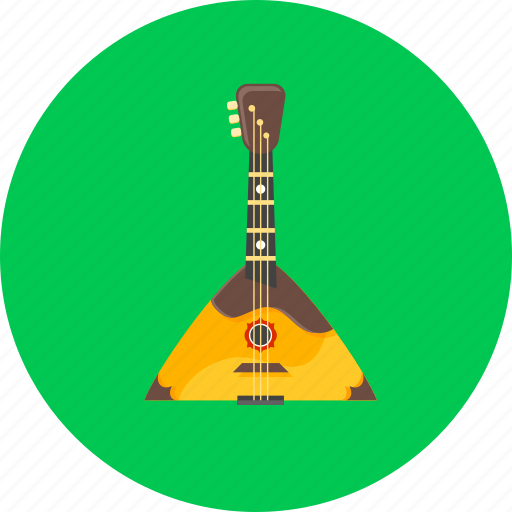 Balalaika, sound, russia, instrument, music, audio, musical icon