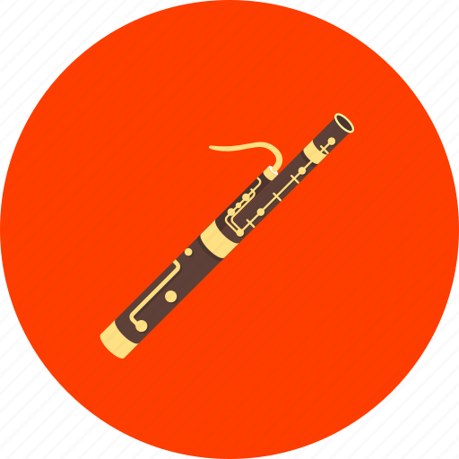 bassoon, blowing instrument, clarinet, equipment, instrument, musical, orchestra icon