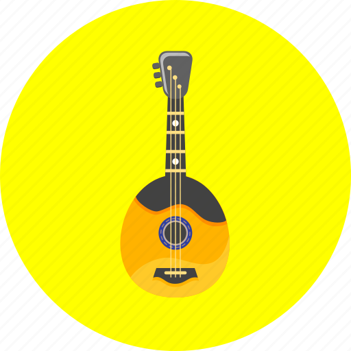 audio, domra, equipment, guitar, instrument, musical, popular icon