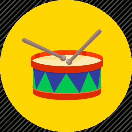 drum, drum sticks, equipment, instrument, musical, sticks, tool icon