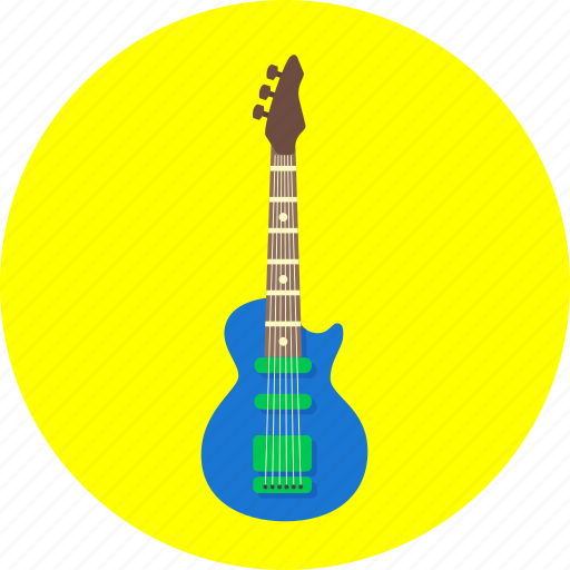 audio, electric, guitar, instrument, music, rock music, sound icon