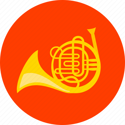 blowing instrument, helicon, instrument, media, music, sound, trombone icon