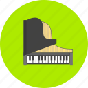 classical music, concert, instrument, music, musical, piano, sound icon